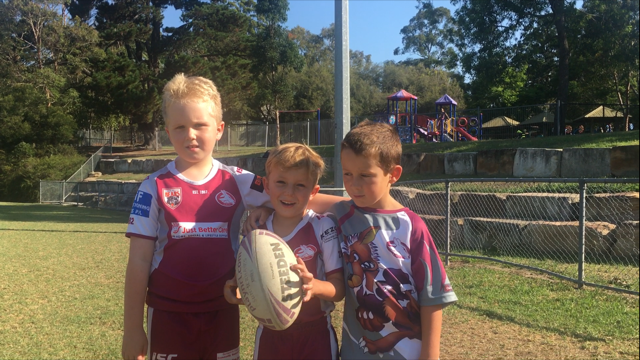 We are the Berowra Wallabies!