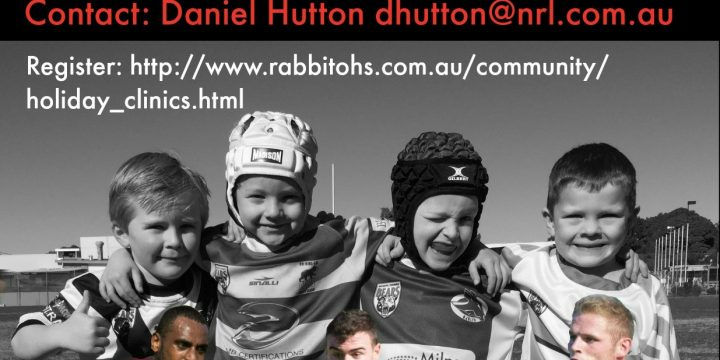 North Sydney Bears/South Sydney Rabbitohs & Manly Sea Eagles School Holiday Clinics